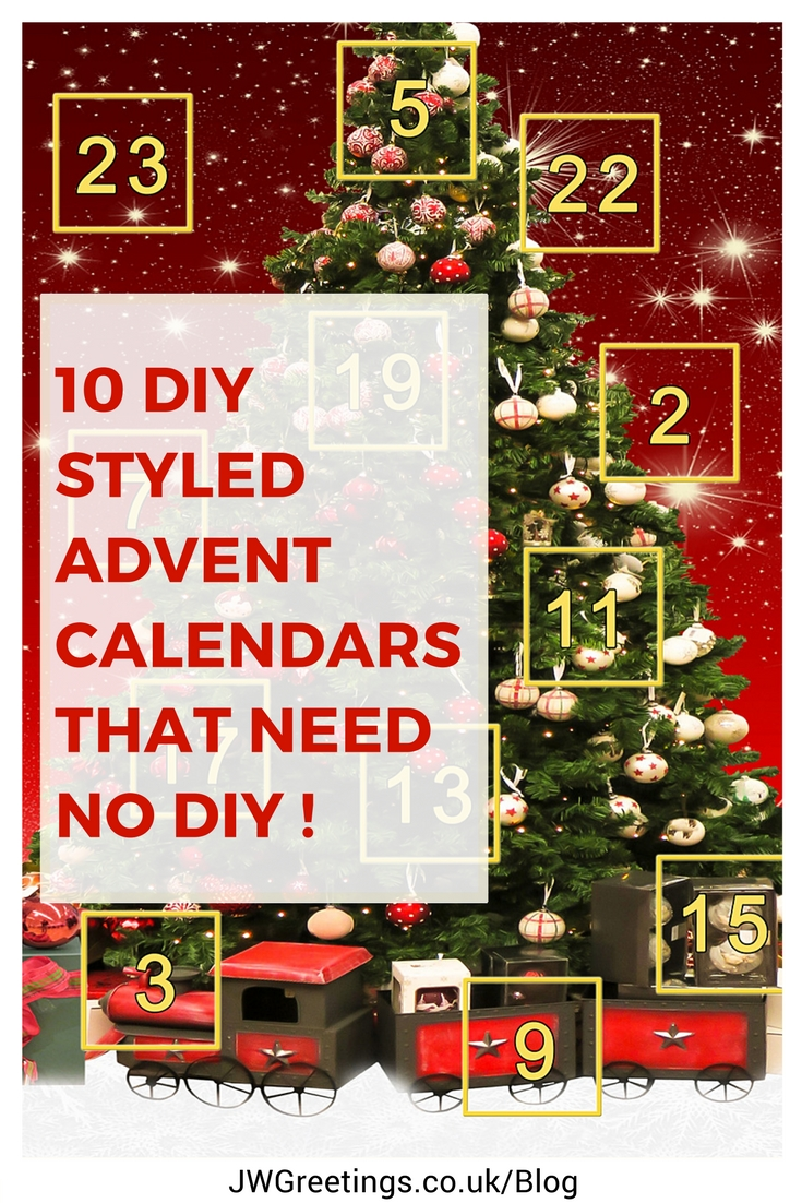 Advent Calendar Adults Diy : Diy advent calendars that need little effort life