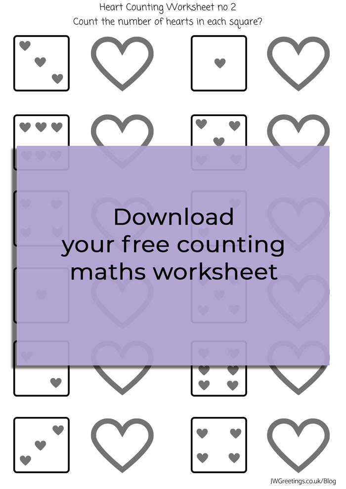 hearts maths worksheet no@2