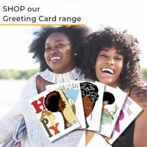 black-Greeting-card