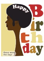 Black Birthday Cards For Him General