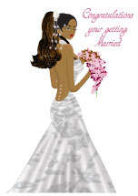 Beautiful Bride to Be - Wedding Card